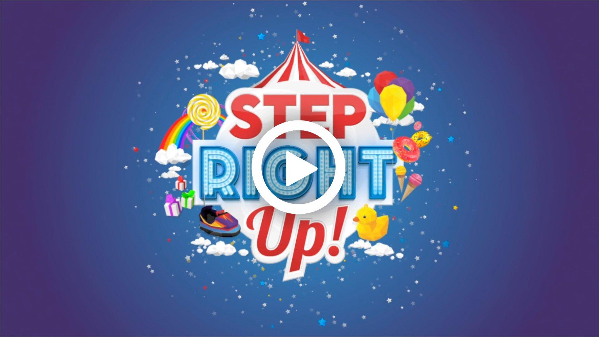 DRPG_BIGtalk_World_Step_Right_Up_Video