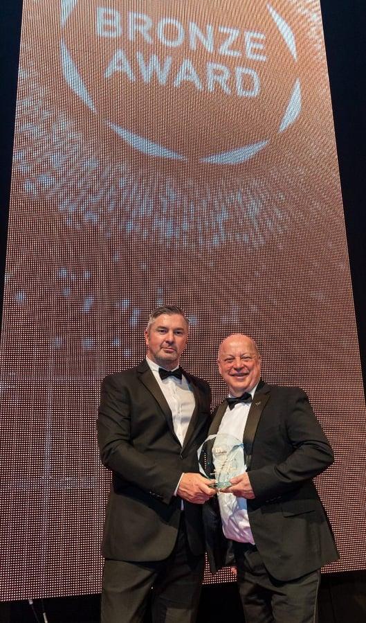 M&IT awards bronze medal